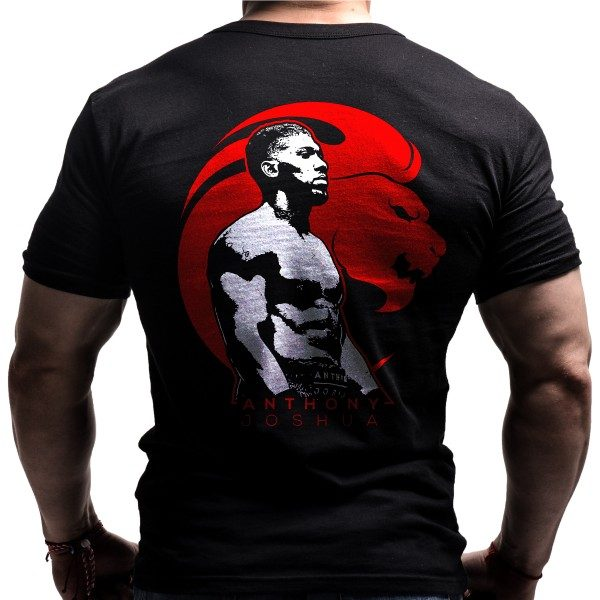 antony-joshua-born-lion-boxing-tshirt-back