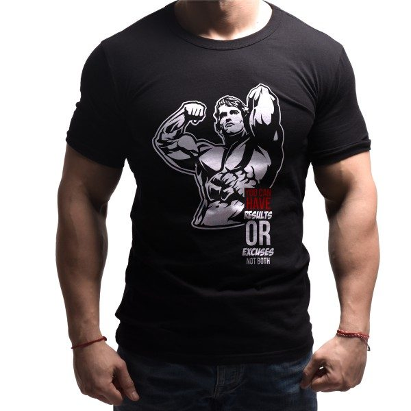 arnold-born-lion-fitness-tshirts