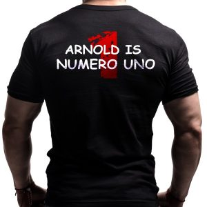 arnold-numero-uno-born-lion-fitness-tshirt-back