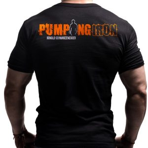 arnold-pumping-iron-born-lion-fitness-tshirts