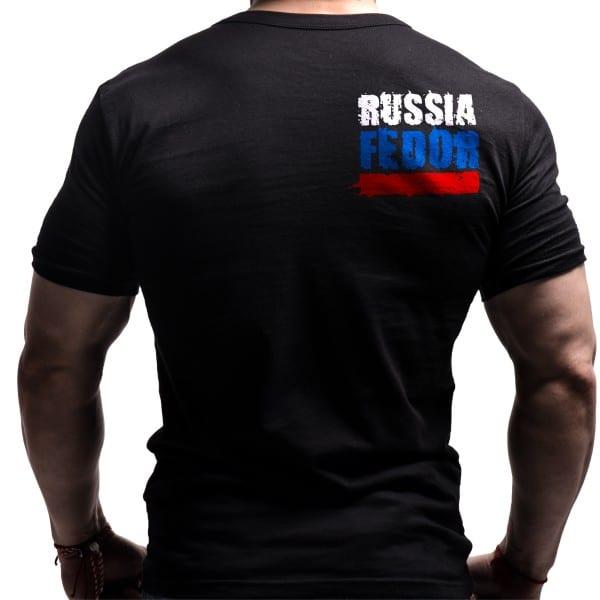 FEDOR EMILIANENKO T-SHIRT MMA Russian Mens S XXL Red Yellow Black
