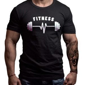 fitness-born-lion-tshirt