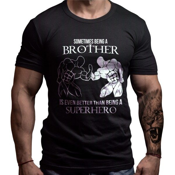 fitness-brother-born-lion-tshirt