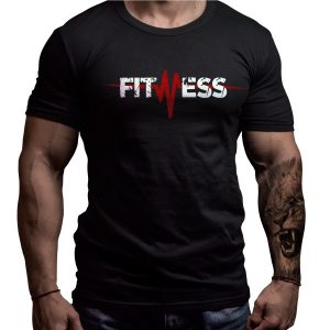 fitness-pulse-born-lion-tshirt