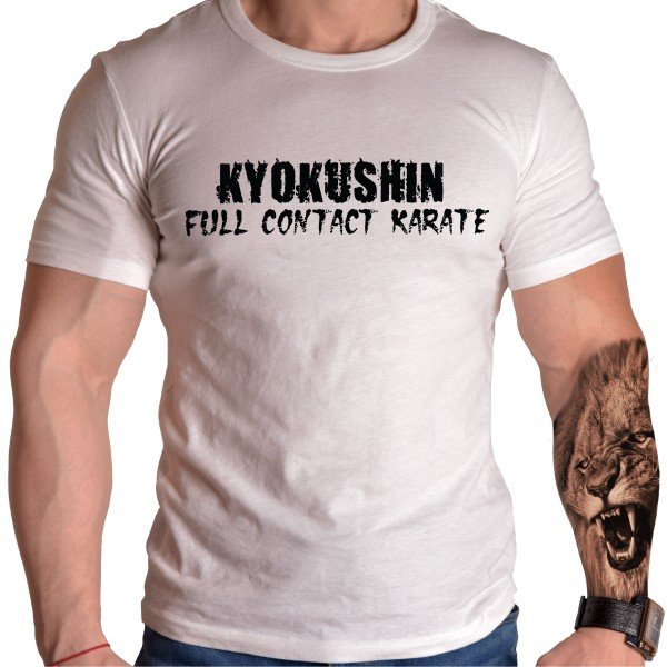 kyokushin-born-lion-karate-tshirt
