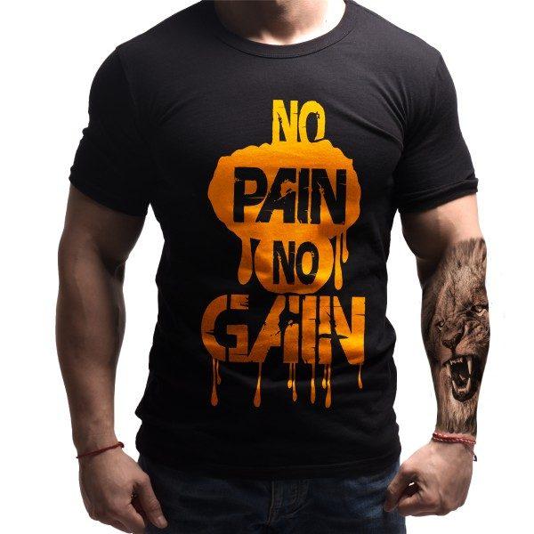 nopain-nogain-born-lion-fitness-tshirts