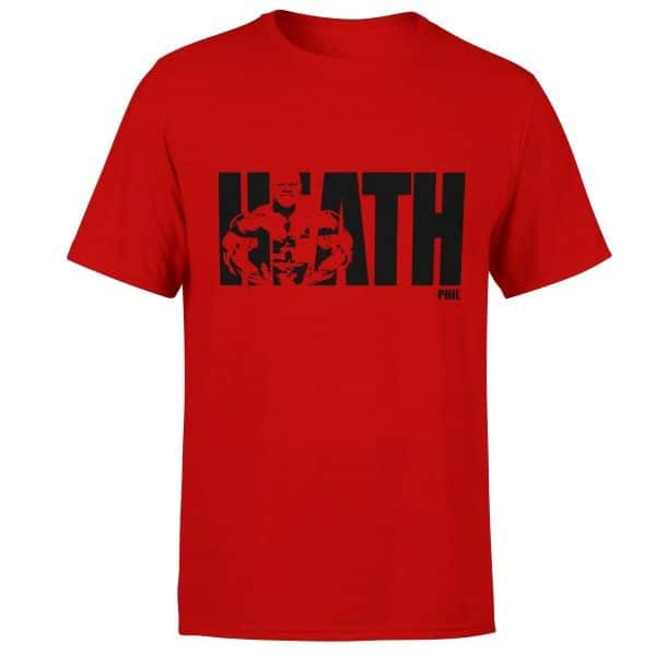 phil-heath-born-lion-fitness-tshirt-red