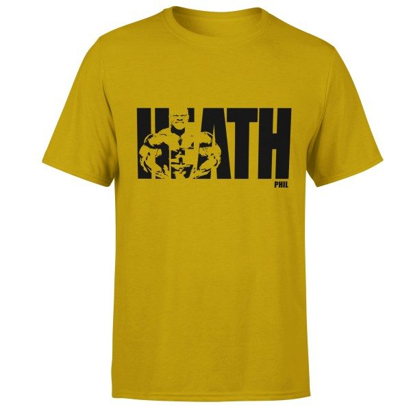 phil-heath-born-lion-fitness-tshirt-yellow