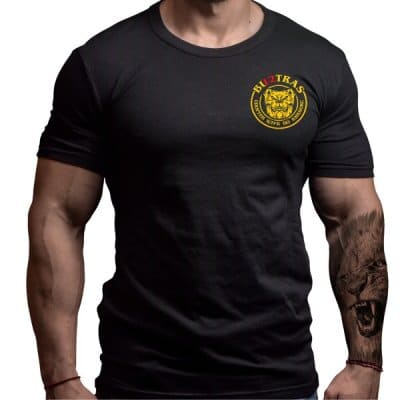bultras-kickboxng-custom-design-clothing-born-lion-front