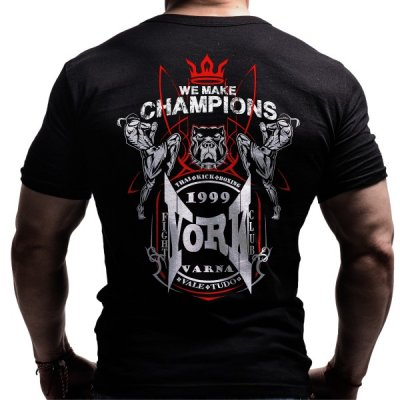kickboxing-muay-thai-custom-design-born-lion-back-red