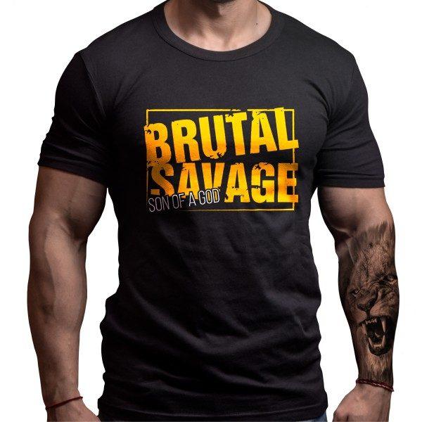 brutal-savage-tshirt-born-lion-front