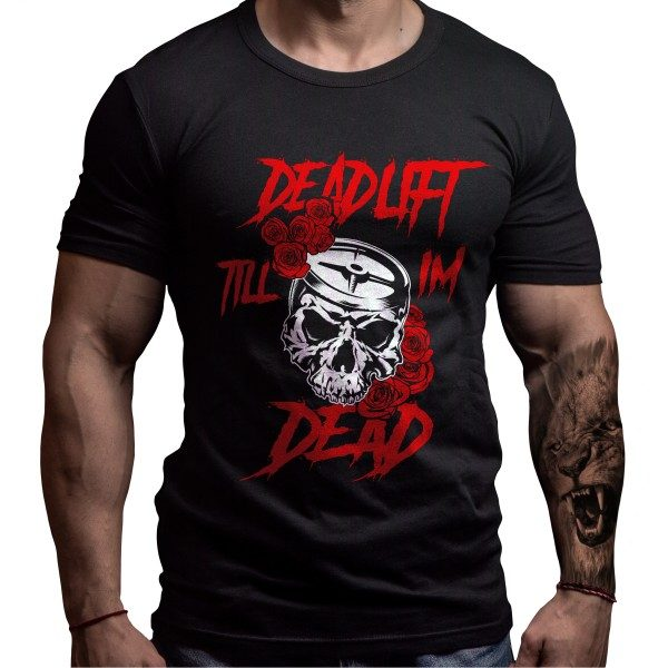 deadlift-skull-tshirt-born-lion