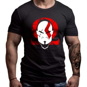 god-war-pop-art-born-lion-tshirt-front