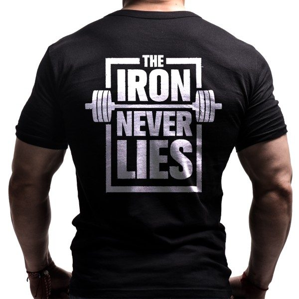 iron-fitnes-tshirt-born-lion-back- gym