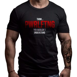powerlifting-thing-born-lion-tshirt