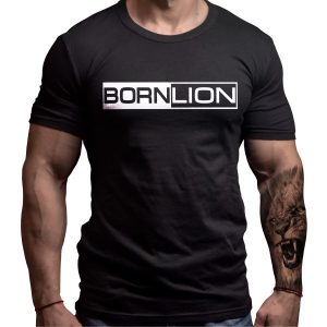 born-lion-tshirt-front