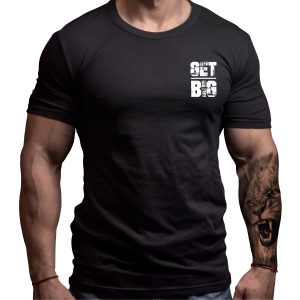 get-big-fitness-tshirt-born-lion