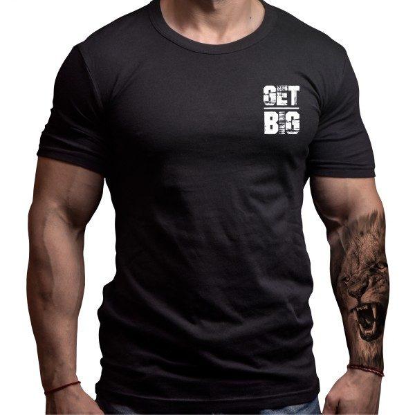 get-big-fitness-tshirt-born-lion