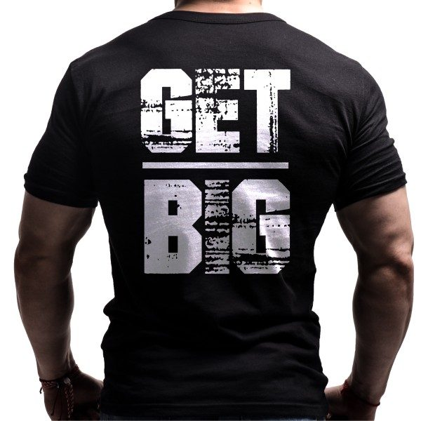 get-big-fitness-tshirt-born-lion-back