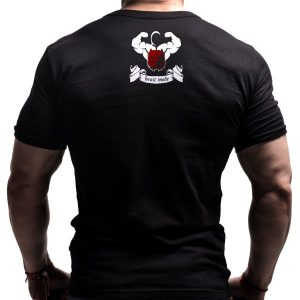train-insane-tshirt-fitnes-gym-bornlion-back