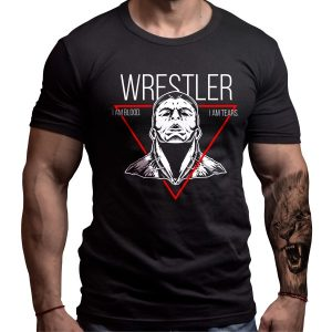 wrestler-tshirt-born-lion-