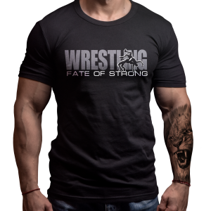 wrestling-tshirt-born-lion