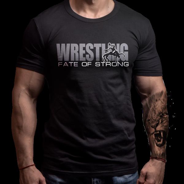 wrestling-tshirt-born-lion