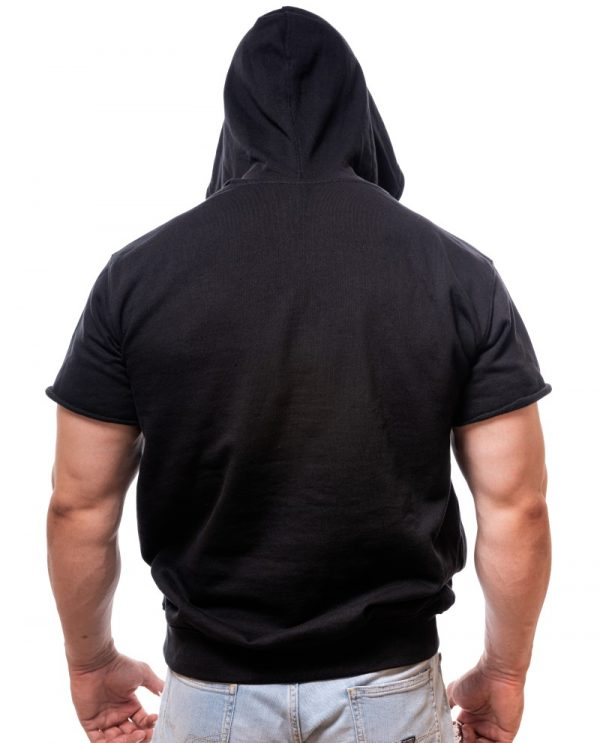 half-sleeve-hoodie-born-lion-cutom-