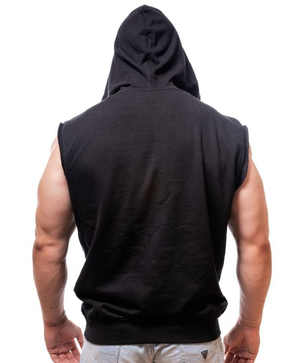 sleeveless hoodie-born-lion-custom-
