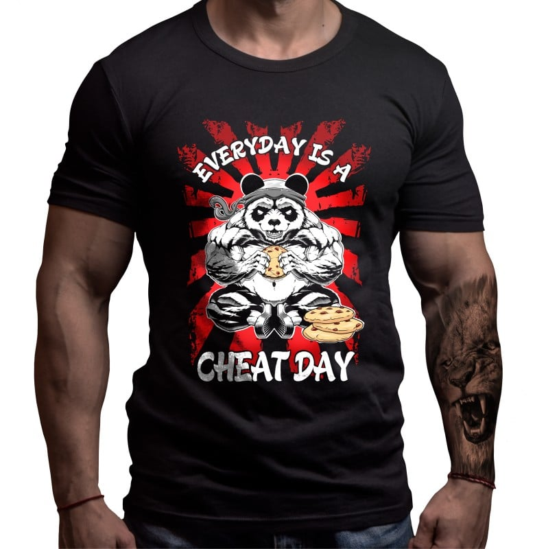 cheat-day-fitness-tshirt-bornlion