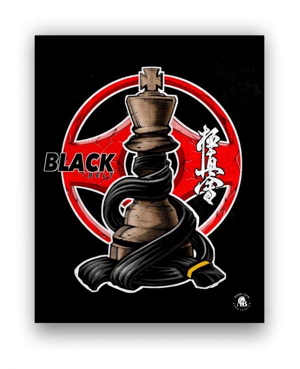 black-belt-kyokushin-print-bornlion--