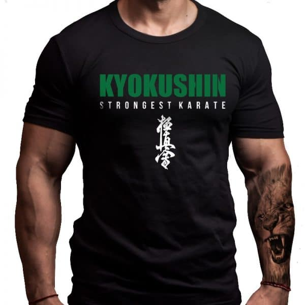 kyokushin-karate-green-belt-tshirt-design-born-lion-