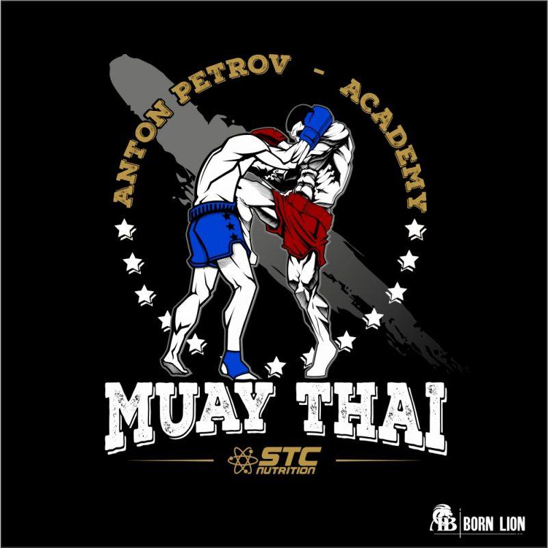 muay-thai-custom-design-portfolio-born-lion